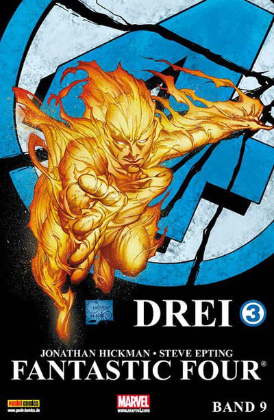 Cover for Fantastic Four (Panini Deutschland, 2009 series) #9