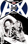 Cover Thumbnail for Avengers vs. X-Men (2012 series) #3 [Sketch Variant Cover by Sara Pichelli]