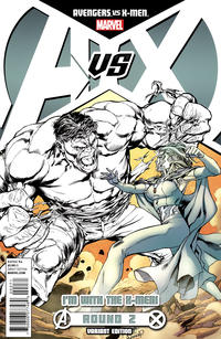 Cover Thumbnail for Avengers vs. X-Men (Marvel, 2012 series) #2 [Team X-Men Variant Cover by Carlo Pagulayan]