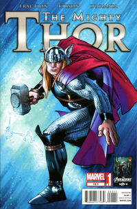 Cover Thumbnail for The Mighty Thor (Marvel, 2011 series) #12.1