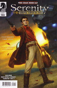 Cover Thumbnail for Free Comic Book Day: Star Wars / and Serenity: Firefly Class 03-K64 (Dark Horse, 2012 series) #[nn]