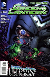 Cover Thumbnail for Green Lantern (DC, 2011 series) #9 [Doug Mahnke Cover]