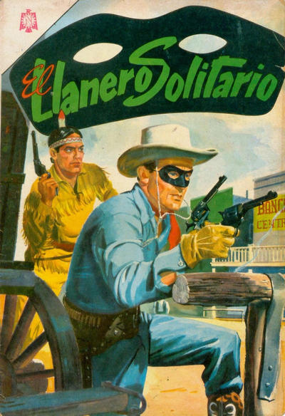 Cover for El Llanero Solitario (1953 series) #154