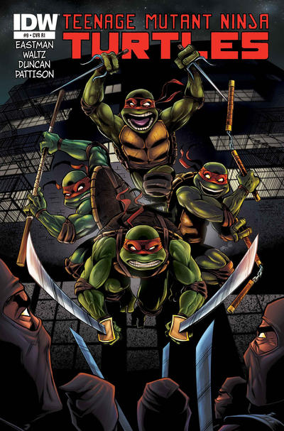 Cover for Teenage Mutant Ninja Turtles (2011 series) #9 [Cover B]