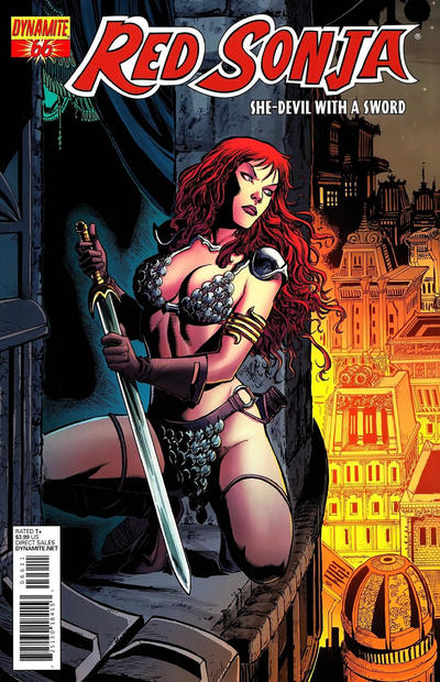 Cover for Red Sonja (Dynamite Entertainment, 2005 series) #66 [Cover A Walter Geovani ]