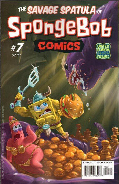 Cover for SpongeBob Comics (2011 series) #7