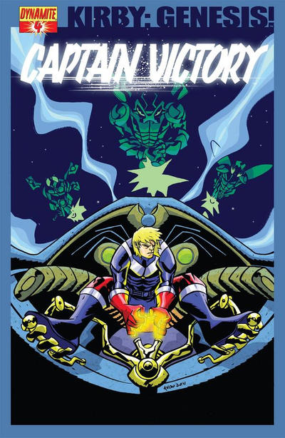 Cover for Kirby: Genesis - Captain Victory (Dynamite Entertainment, 2011 series) #4 [Oeming 1-in-10 Chase Cover]