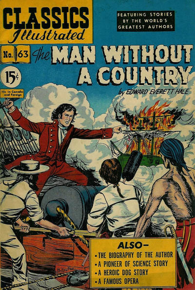 Cover for Classics Illustrated (Gilberton, 1948 series) #63