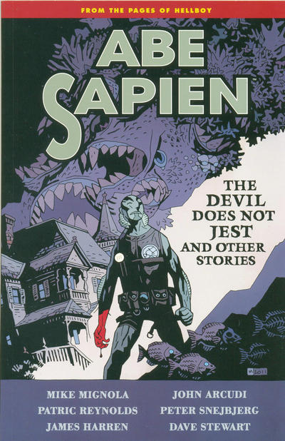 Cover for Abe Sapien (Dark Horse, 2008 series) #2 - The Devil Does Not Jest and Other Stories