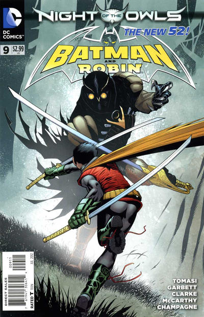 Cover for Batman and Robin (DC, 2011 series) #9