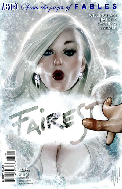 Cover for Fairest (DC, 2012 series) #3
