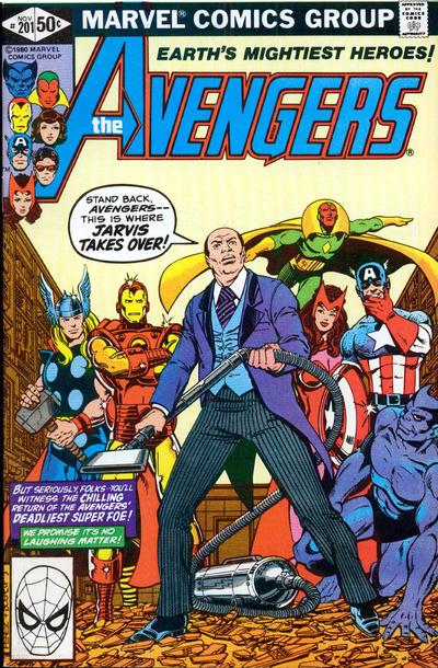 Cover for The Avengers (Marvel, 1963 series) #201 [Newsstand Edition]