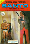 Cover for Santo El Enmascarado de Plata (Editorial Icavi, Ltda., 1976 series) #9