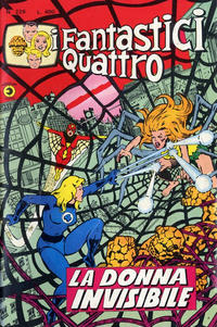 Cover Thumbnail for I Fantastici Quattro (Editoriale Corno, 1971 series) #226