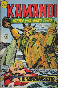 Cover Thumbnail for Kamandi (Editoriale Corno, 1977 series) #1
