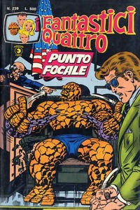 Cover Thumbnail for I Fantastici Quattro (Editoriale Corno, 1971 series) #239