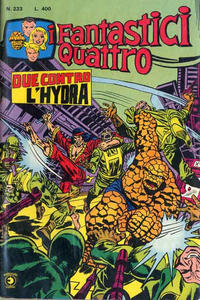 Cover Thumbnail for I Fantastici Quattro (Editoriale Corno, 1971 series) #223
