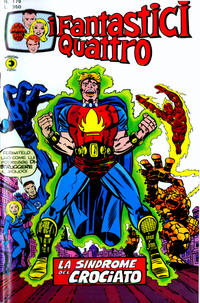 Cover for I Fantastici Quattro (1971 series) #179