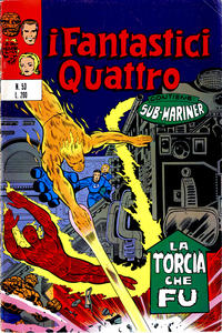 Cover Thumbnail for I Fantastici Quattro (Editoriale Corno, 1971 series) #53