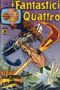 Cover Thumbnail for I Fantastici Quattro (Editoriale Corno, 1971 series) #101