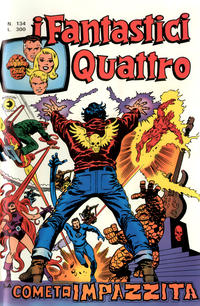 Cover Thumbnail for I Fantastici Quattro (Editoriale Corno, 1971 series) #134