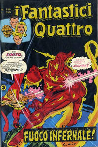 Cover Thumbnail for I Fantastici Quattro (Editoriale Corno, 1971 series) #156