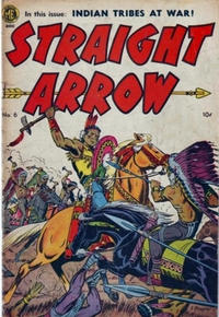 Cover Thumbnail for Straight Arrow (Superior Publishers Limited, 1950 series) #6