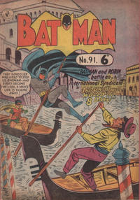 Cover Thumbnail for Batman (K. G. Murray, 1950 series) #91