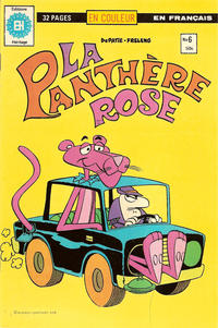 Cover Thumbnail for La Panthère Rose (Editions Héritage, 1978 series) #6