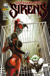 Cover Thumbnail for Gotham City Sirens (Panini Deutschland, 2010 series) #5 - Abschiedsfeier