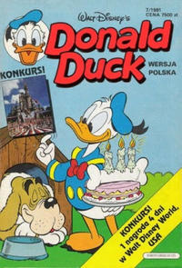 Cover for Donald Duck (1991 series) #7/1991