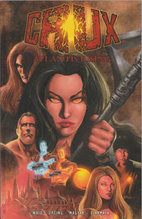 Cover Thumbnail for Crux (CrossGen, 2002 series) #1 - Atlantis Rising