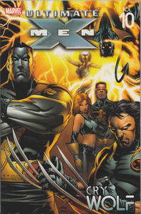 Cover for Ultimate X-Men (2002 series) #10 - Cry Wolf