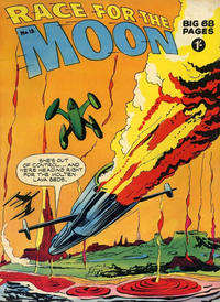 Cover for Race for the Moon (Thorpe & Porter, 1959 series) #13