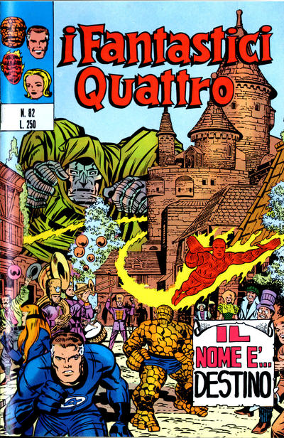 Cover for I Fantastici Quattro (Editoriale Corno, 1971 series) #82