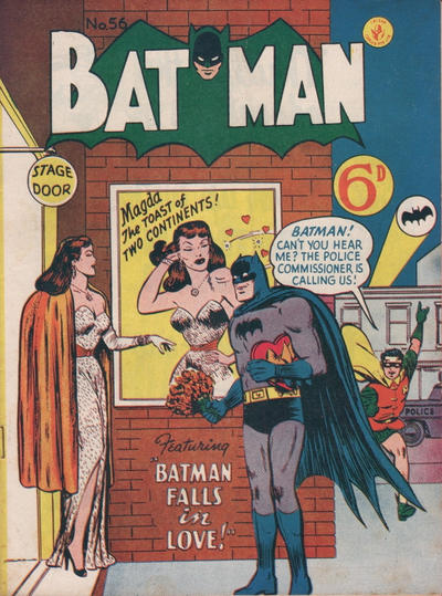 Cover for Batman (1950 series) #56