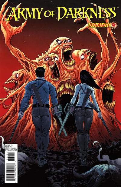 Cover for Army of Darkness (Dynamite Entertainment, 2012 series) #4
