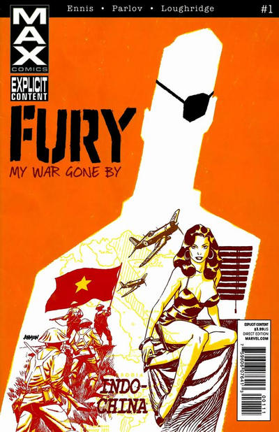 Cover for Fury Max (Marvel, 2012 series) #1