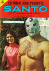 Cover for Santo El Enmascarado de Plata (Editorial Icavi, Ltda., 1976 series) #27