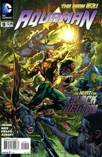 Cover Thumbnail for Aquaman (DC, 2011 series) #9