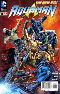Cover Thumbnail for Aquaman (DC, 2011 series) #8