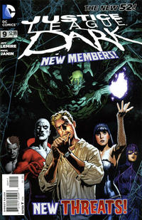Cover Thumbnail for Justice League Dark (DC, 2011 series) #9