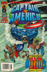 Cover Thumbnail for Captain America (Marvel, 1968 series) #440 [newsstand]
