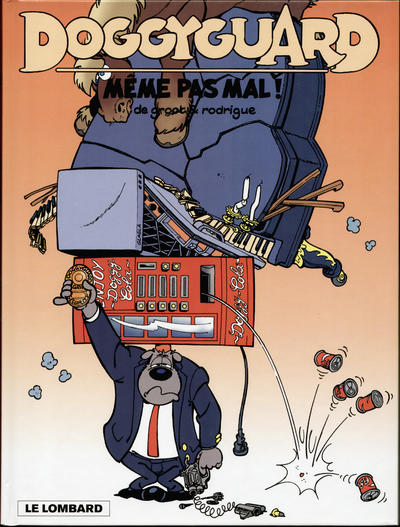Cover for Doggyguard (Le Lombard, 1999 series) #2