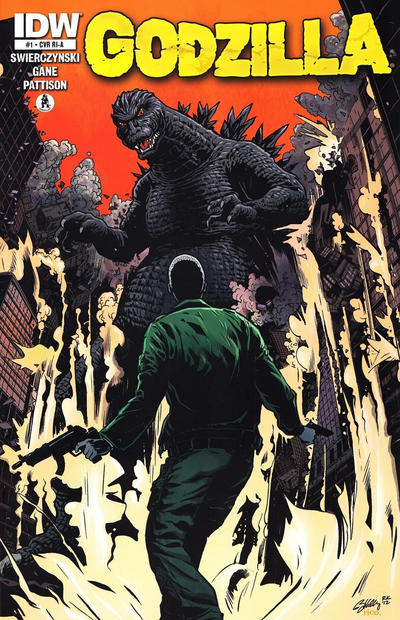 Cover for Godzilla (2012 series) #1