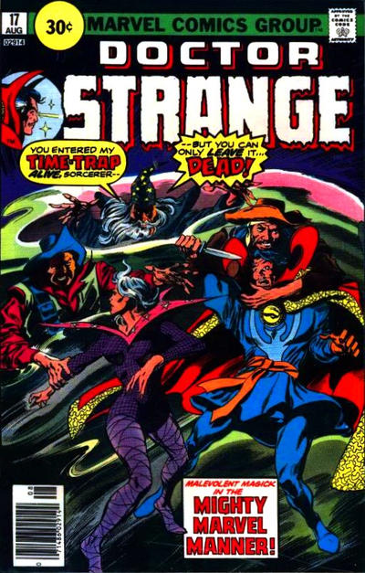 Cover for Doctor Strange (Marvel, 1974 series) #17 [30¢ Price Variant]