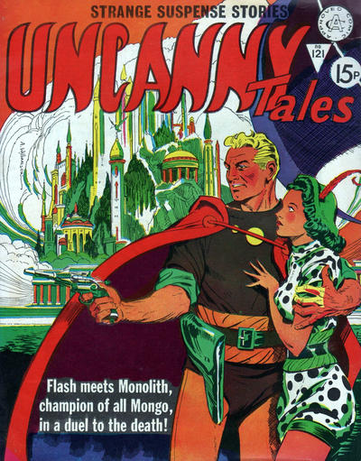 Cover for Uncanny Tales (Alan Class, 1963 series) #121