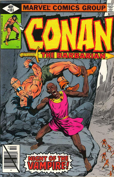 Cover for Conan the Barbarian (Marvel, 1970 series) #103 [Newsstand Edition]