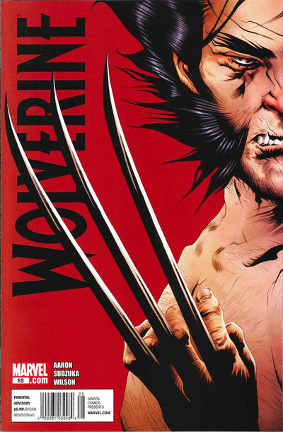 Cover for Wolverine (Marvel, 2010 series) #16