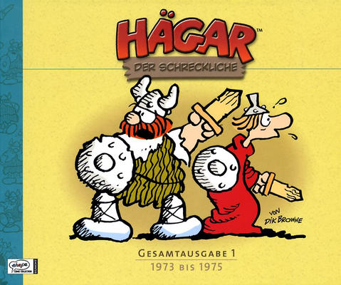 Cover for Hägar Gesamtausgabe (2007 series) #1